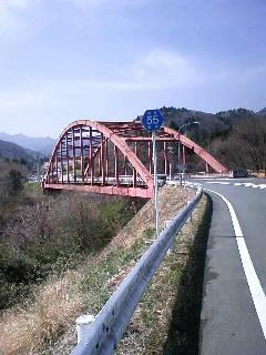 県道55号線へ〜