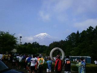 富士山が見えてきたぞっ