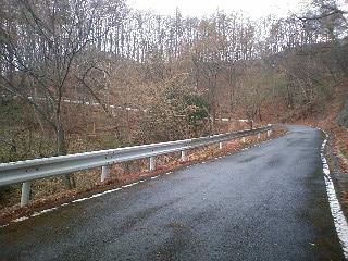 高須林道を走って韮崎へ