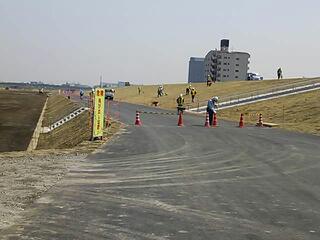 西新井橋〜千住新橋右岸が開通